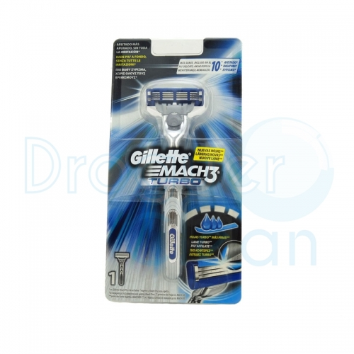 GILLETTE MACH-3 TURBO MAQUINILLA