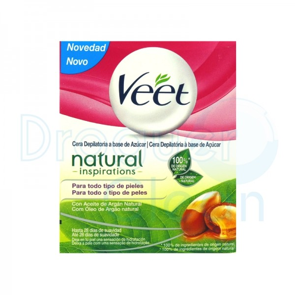 Veet Cera Tibia Natural Inspirations 250 Ml