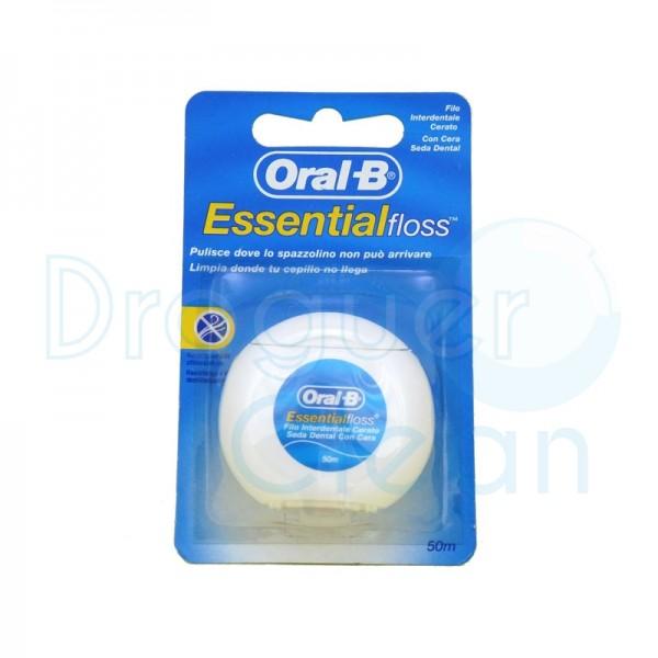 Oral B Essential Floss Seda Dental 50 M