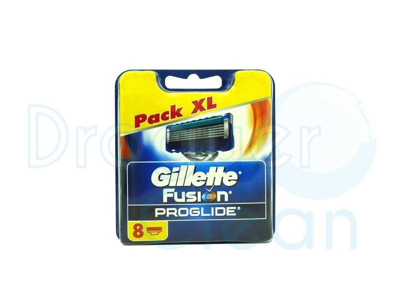 Gillette Fusion Proglide Manual Cargador 8 Uds