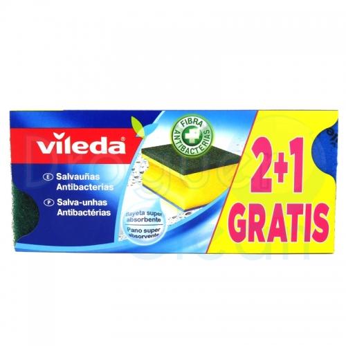 VILEDA ESTROPAJO SALVAUÑAS 2 + 1