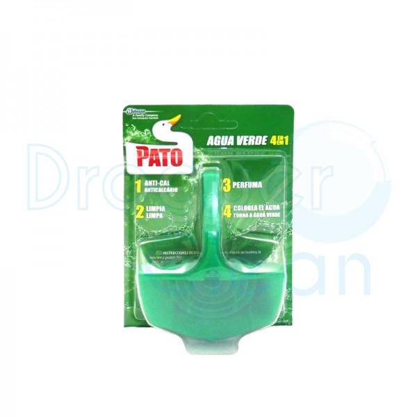 Pato Wc Colgador Agua Verde 4 En 1