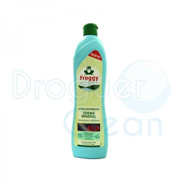 Frosch Vitrocerámicas Crema Mineral 650 Ml
