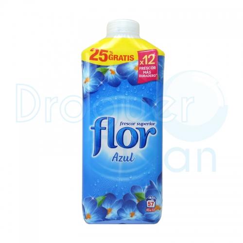 Flor Suavizante Concentrado Azul 45+12 Dosis 1254 Ml