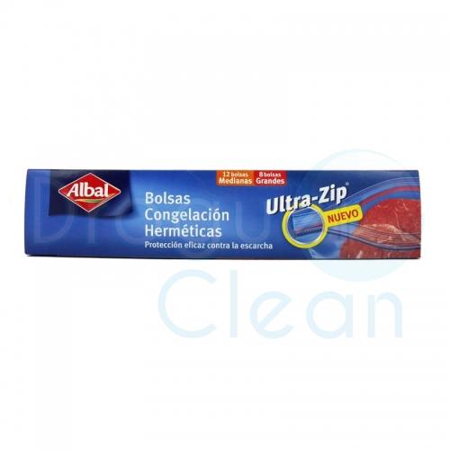 Albal Bolsa Congelación Ultra-Zip 2 Tamaños