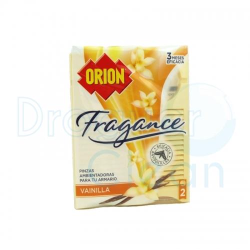 Orion Fragance Pinzas Antipolillas Vainilla 2 Uds