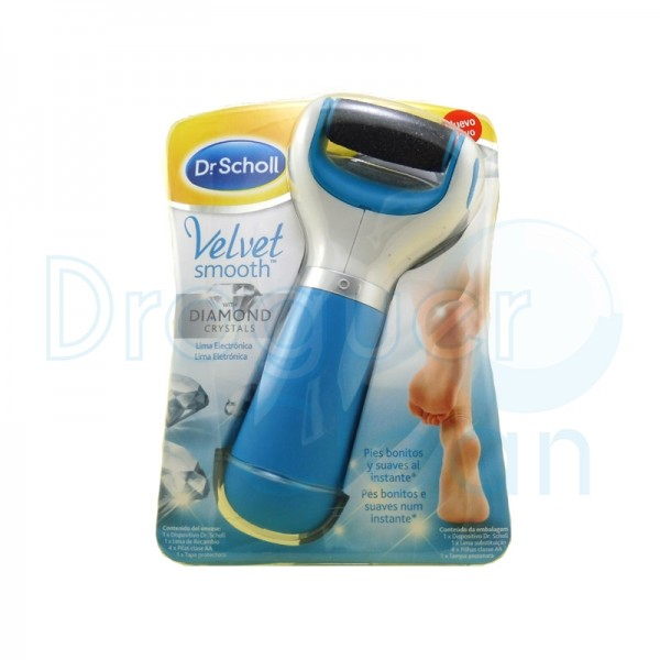 Scholl Velvet Smooth Lima Electronica Pies