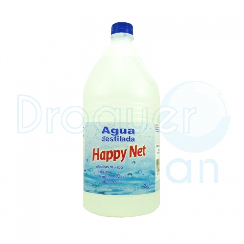 Happy Net Agua Destilada 2 L