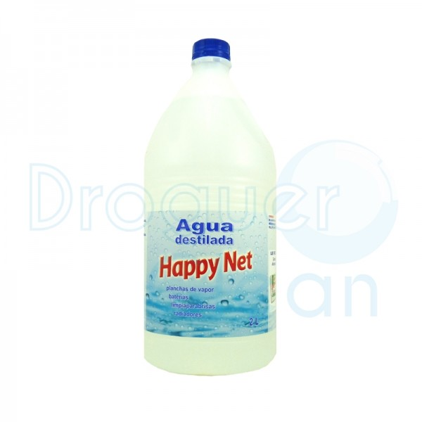 Happy Net Agua Destilada 2 L