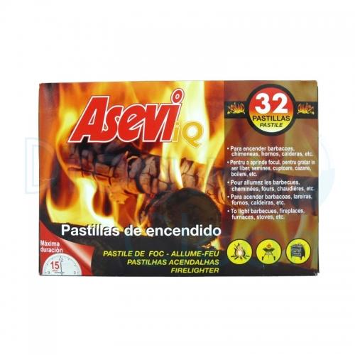 ASEVI PASTILLAS DE ENCENDIDO 32 PASTILLAS