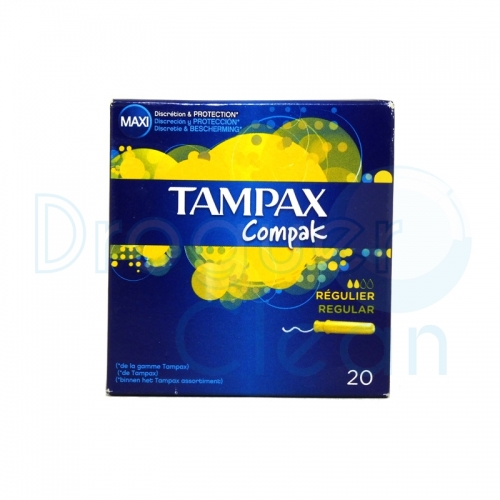 TAMPAX COMPAK REGULAR 20 SERVICIOS