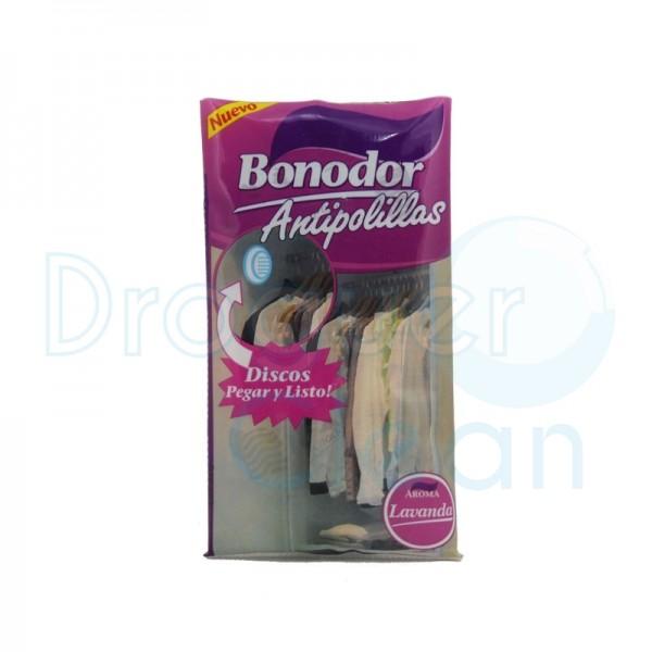 Bonodor Antipolillas Disco Armario Aroma Lavanda 2 Uds
