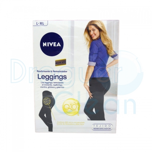 NIVEA Q-10 PLUS LEGGINGS REAFIRMANTE & REMODELADOR TALLA L-XL
