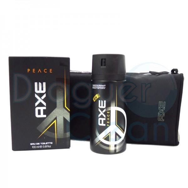 Axe Neceser Peace Eau De Toillete Hombre 100 Ml + Desodorante 150 Ml