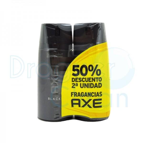 Axe Desodorante Black Spray 150 Ml Duplo