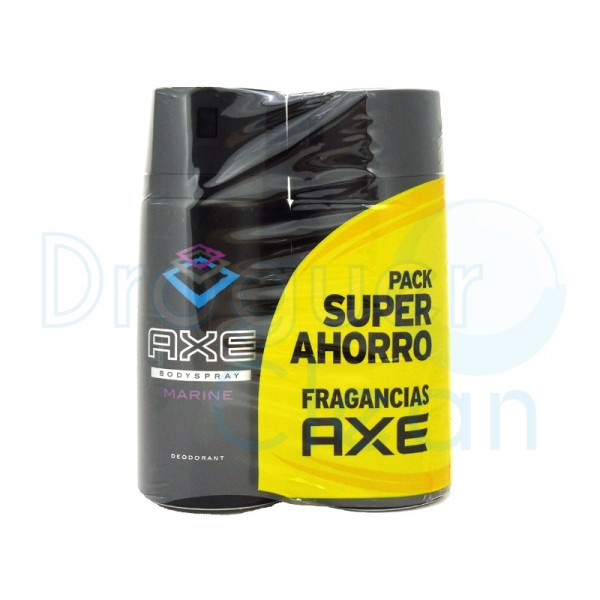 Axe Desodorante Marine Spray 150 Ml Duplo