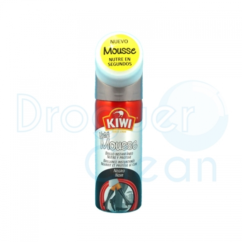 KIWI NUTRI MOUSSE NEGRO 50 ML