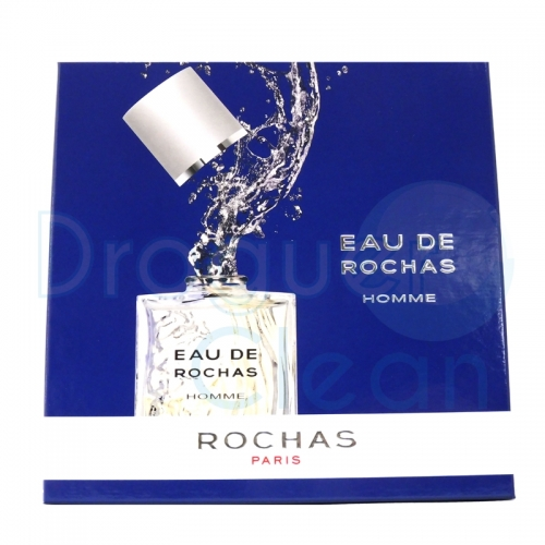 EAU ROCHAS EAU DE TOILETTE HOMBRE 100 ML + AFTER SHAVE 125 ML