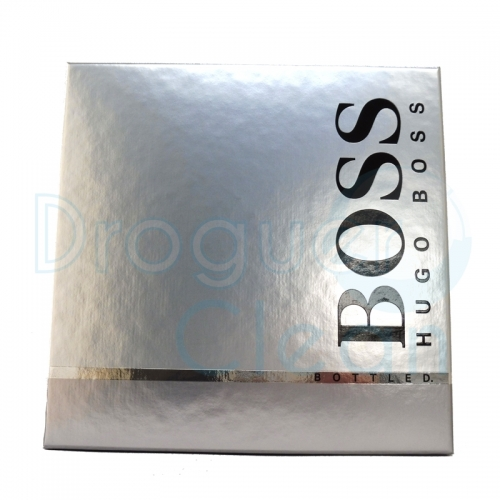 HUGO BOSS BOTTLED EAU DE TOILETTE HOMBRE 100 ML + GEL 50 ML + AFTER SHAVE 75 ML