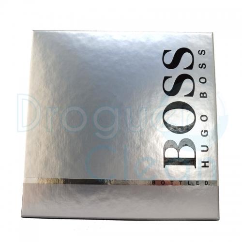 HUGO BOSS BOTTLED EAU DE TOILETTE HOMBRE 100 ML + GEL 50 ML + AFTER SHAVE 75 ML