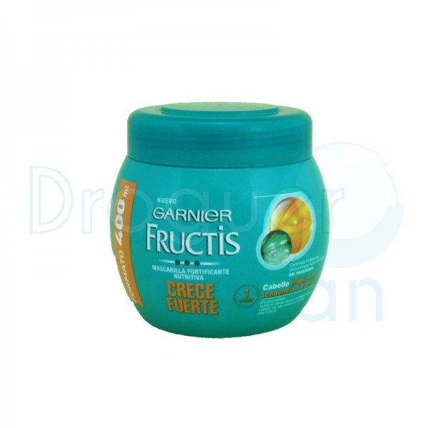Garnier Fructis Mascarilla Crece Fuerte 400 Ml
