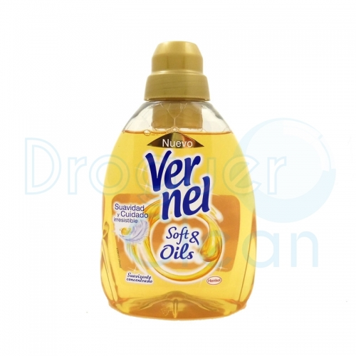 VERNEL SUAVIZANTE CONCENTRADO SOFT & OILS GOLD 750 ML