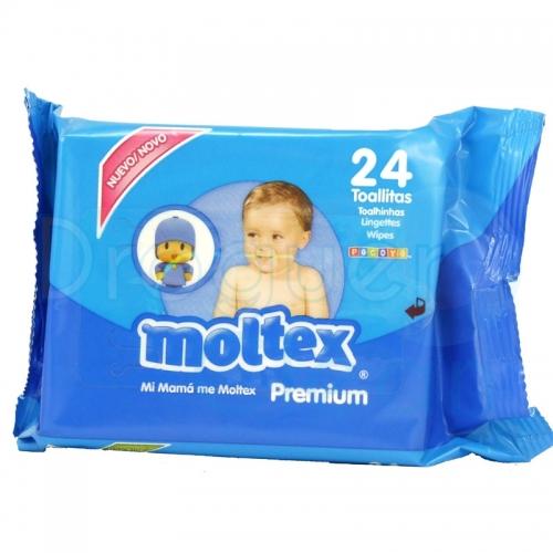 MOLTEX TOALLITAS BEBE 24 SERVICIOS