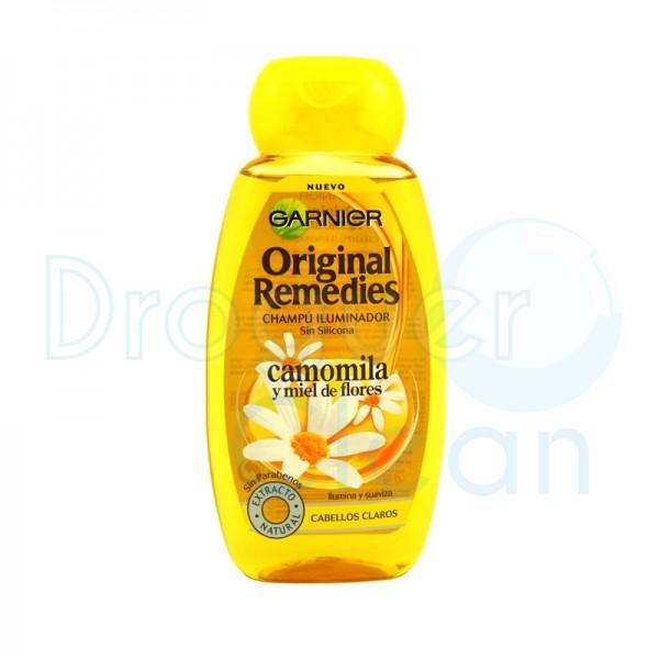 Garnier Original Remedies Camomila Y Miel De Flores Champu 250 Ml