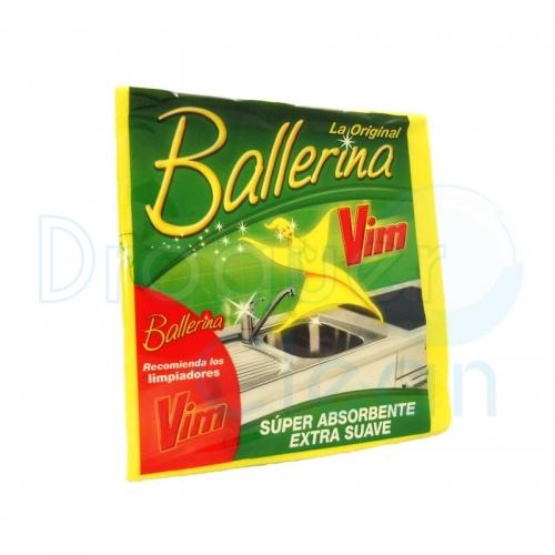 BALLERINA BAYETA VIM AMARILLA 1 UD
