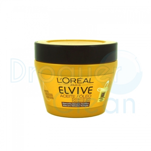 Elvive Mascarilla Aceite Extraordinario 300 Ml