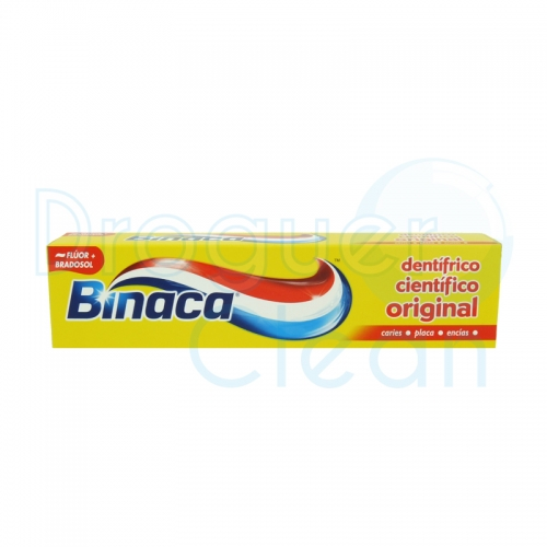 BINACA PASTA DE DIENTES ORIGINAL 100 ML