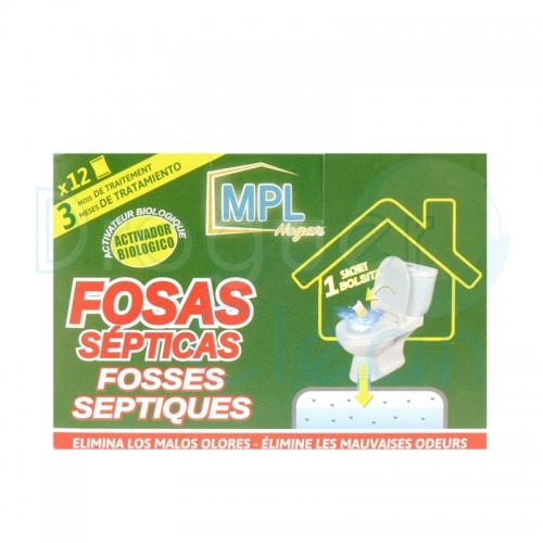 MPL LIMPIADOR FOSAS SEPTICAS SOBRES 12 UDS