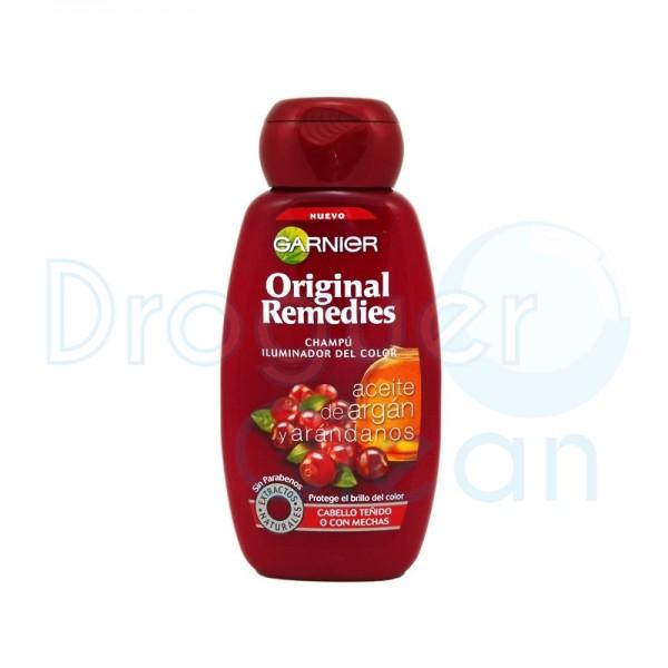 Garnier Original Remedies Aceite Argan Champu 250 Ml