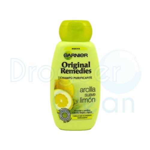 Garnier Original Remedies Arcilla Champú 250 Ml