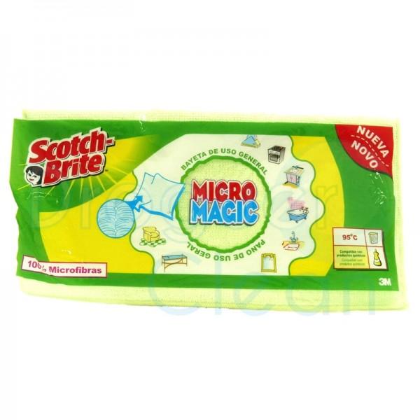 Scotch-Brite Micro Magic Bayeta Microfibra