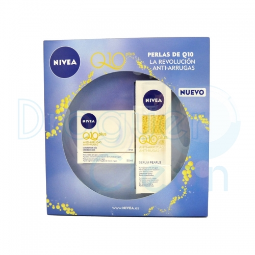 Nivea Q10 Plus Crema Dia Anti-Arrugas 50 Ml + Q10 Plus Serum Anti-Arrugas 40 Ml