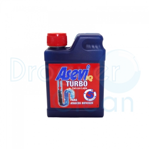 Asevi Desatascador Turbo Gel 450 Ml