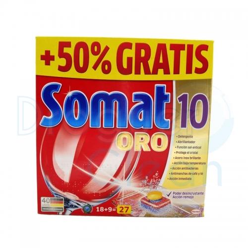 SOMAT-10 ORO MAQUINA 27 PASTILLAS