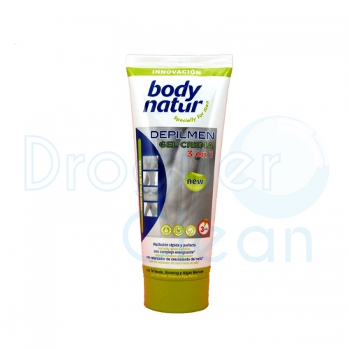 Body Natur Depilmen Gel Crema Depilatoria Hombre Tubo 200 Ml