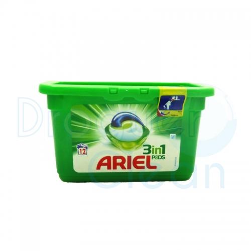 ARIEL 3 EN 1 REGULAR CAPSULAS 12 UDS