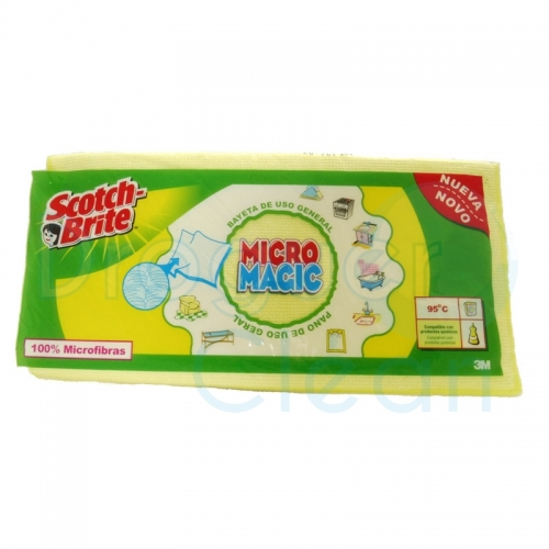 SCOTCH-BRITE MICRO MAGIC BAYETA MICROFIBRA