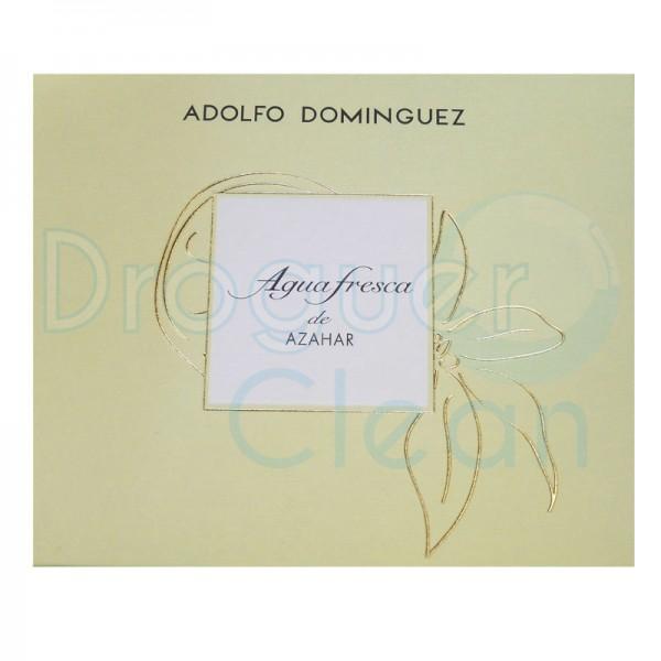Adolfo Dominguez Agua Fresca Azahar Eau De Toilette Mujer 120 Ml+Body Milk 75 Ml