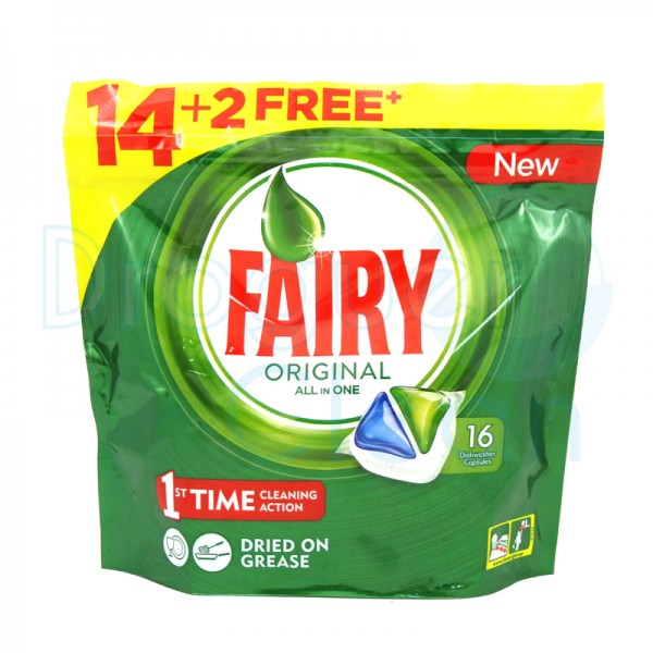 Fairy Ultra Power Maquina Capsulas 14+2 Uds