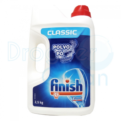 FINISH CLASSIC BOTELLA DETERGENTE POLVO 2,5 KG