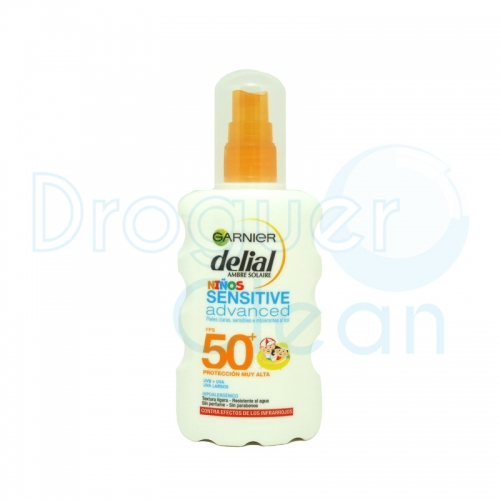 Delial Niños Sensitive Advanced Leche Solar Protectora Fps50+ 200 Ml