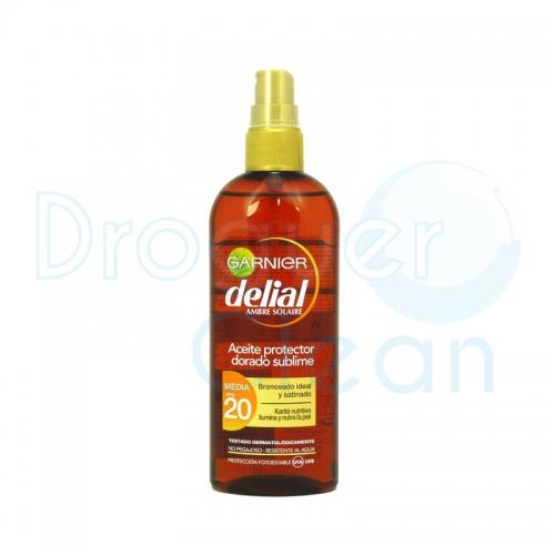 DELIAL ACEITE PROTECTOR DORADO SUBLIME FPS20 150 ML