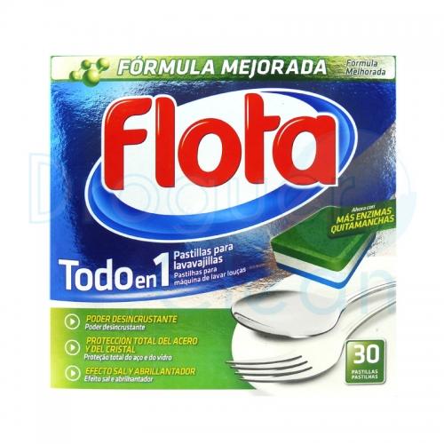 FLOTA TODO EN 1 PASTILLAS 30 UDS