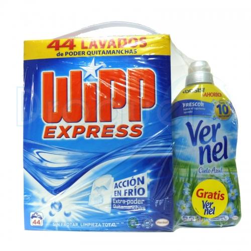Wipp Maleta 44 Cacitos 2,860 Kg + Vernel 1,250 L Gratis