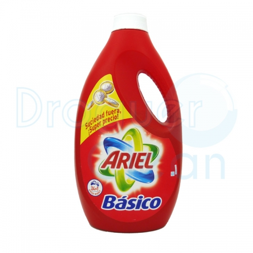 ARIEL BASICO DETERGENTE LIQUIDO 1,625 ML