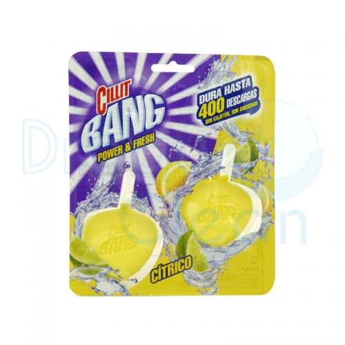 Cillit Bang Power & Fresh Colgador Wc Citrico